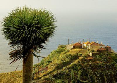 Das winzige Örtchen Topeciegas in La Palmas Norden